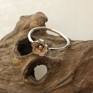 MadeByLori Jewelry - 🌸Hand-cut silver flower ring🌸